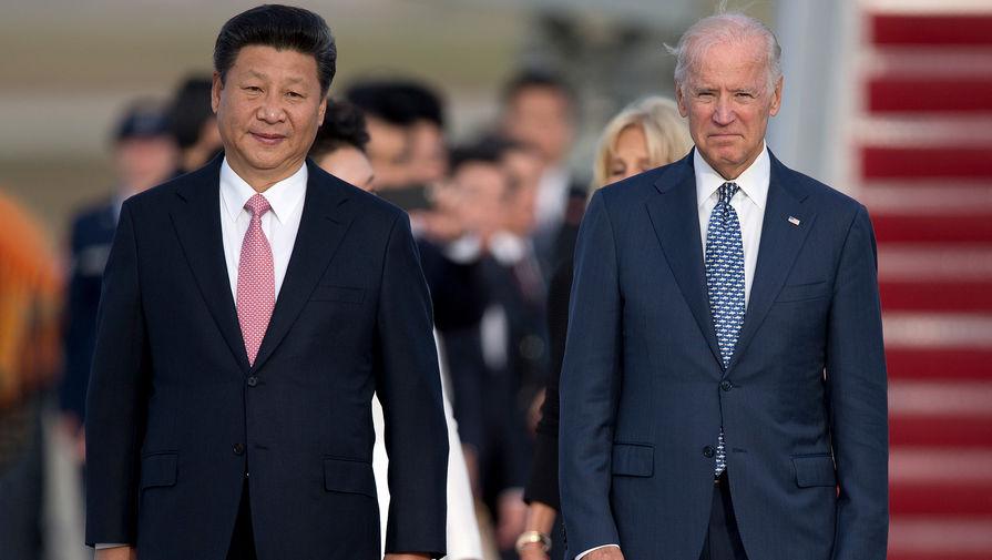 Председатель КНР Си Цзиньпин отказался встречаться с Байденом лично