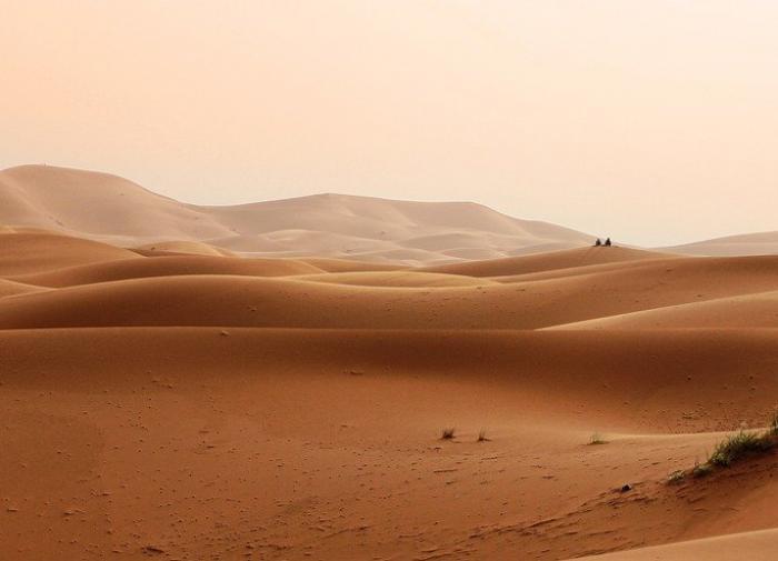 Китайский турист два дня провёл в пустыне без еды и воды