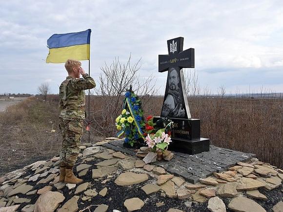 Американские военные побывали в зоне боевых действий в Донбассе