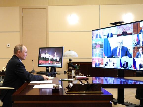 Глава Бурятии вышел на связь с правительством с помощью стула (фото)