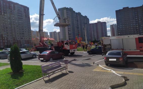 На Дериглазова из многоэтажки эвакуировали людей