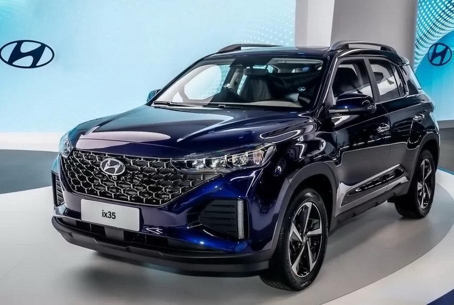 У Hyundai появился модный кроссовер с вертикальным экраном мультимедиа