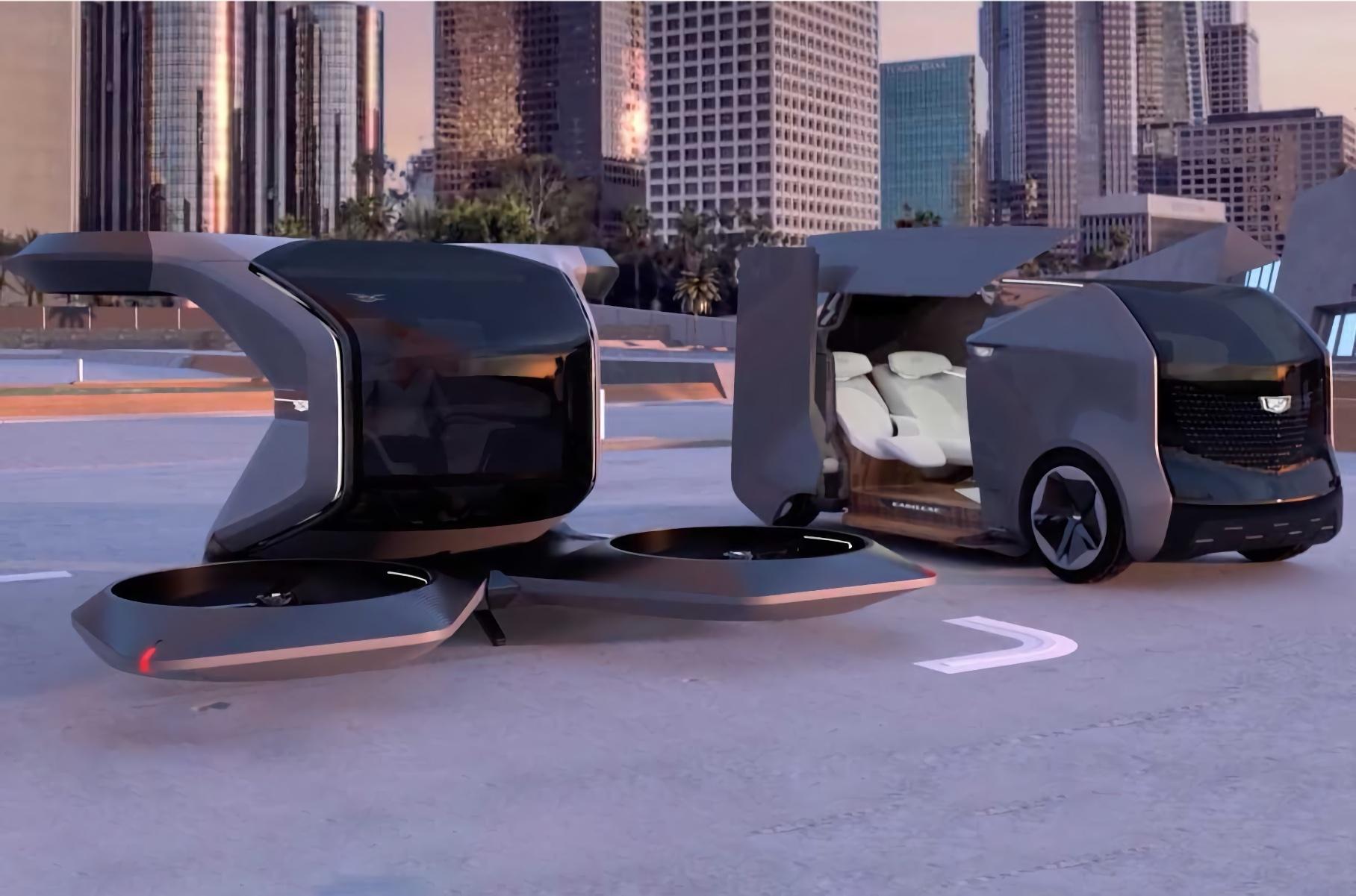 Cadillac представил футуристичный концепт персонального транспорта будущего