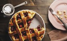 Готовим сочный вишневый пирог