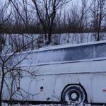 Пассажирский автобус вылетел в кювет на Ставрополье