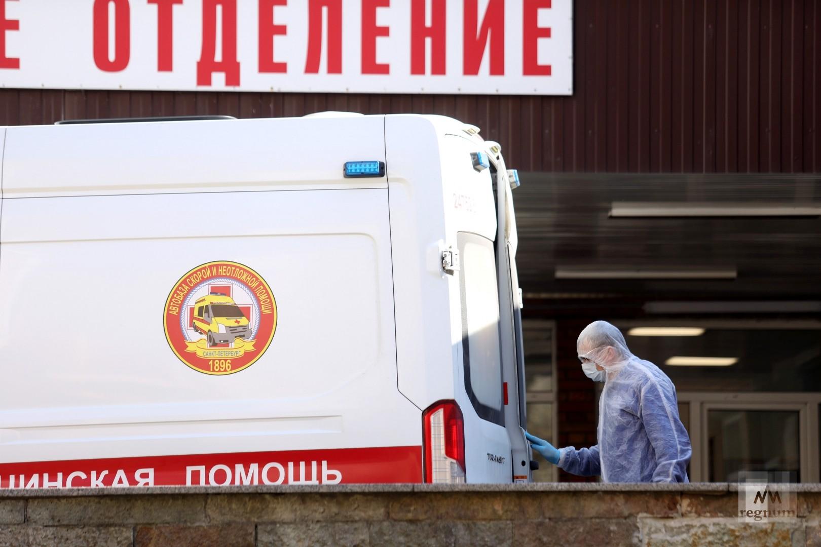 В России растёт число смертей от коронавирусной инфекции