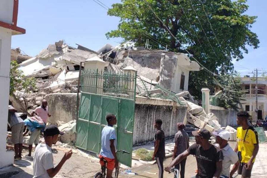 При землетрясении на Гаити погибли не менее 29 человек