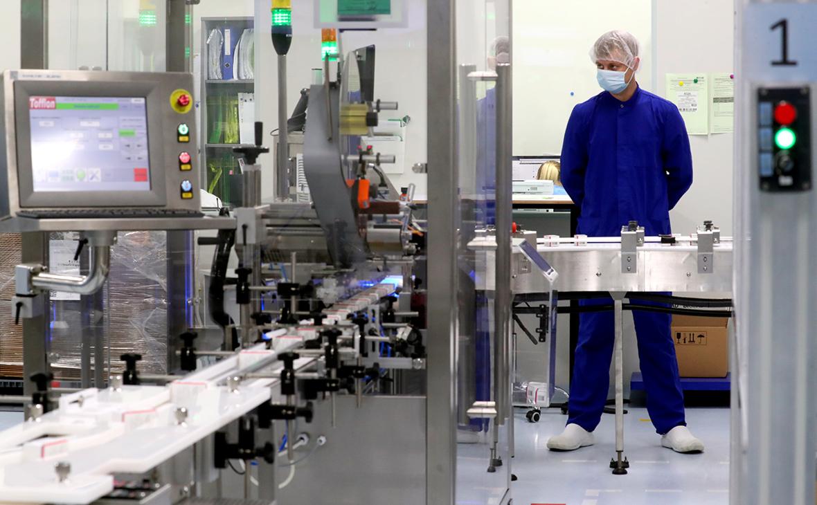 В России резко выросло производство вакцин