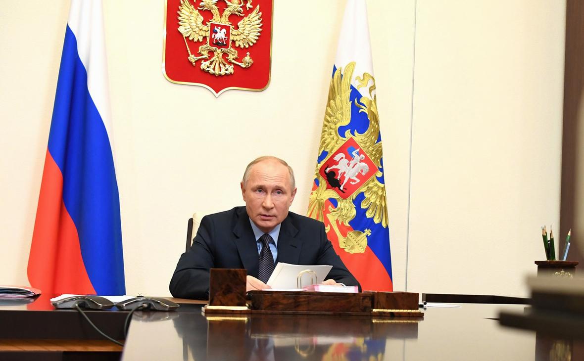 Путин назвал авторов мирного соглашения по Карабаху