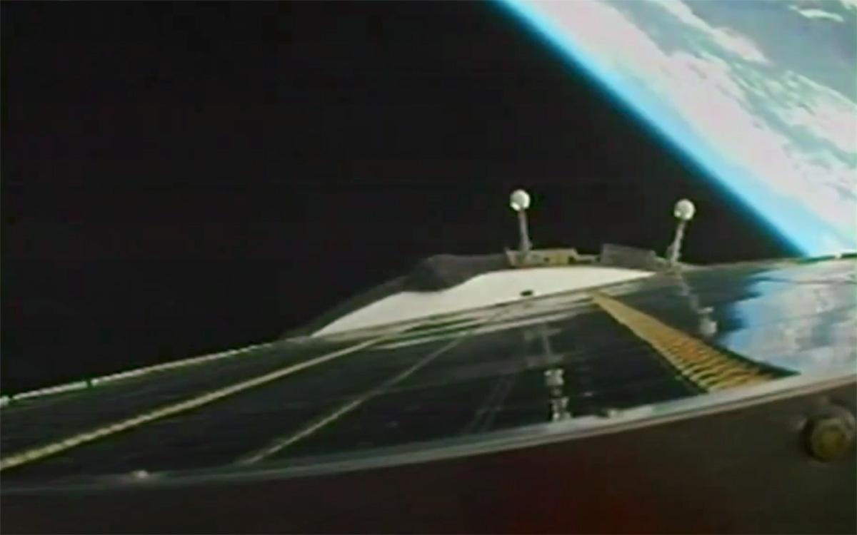 Корабль «Ю.А. Гагарин» с тремя космонавтами вышел на орбиту