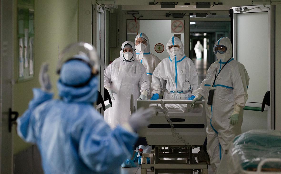 В России за сутки выявили менее 21 тыс. новых случаев COVID-19