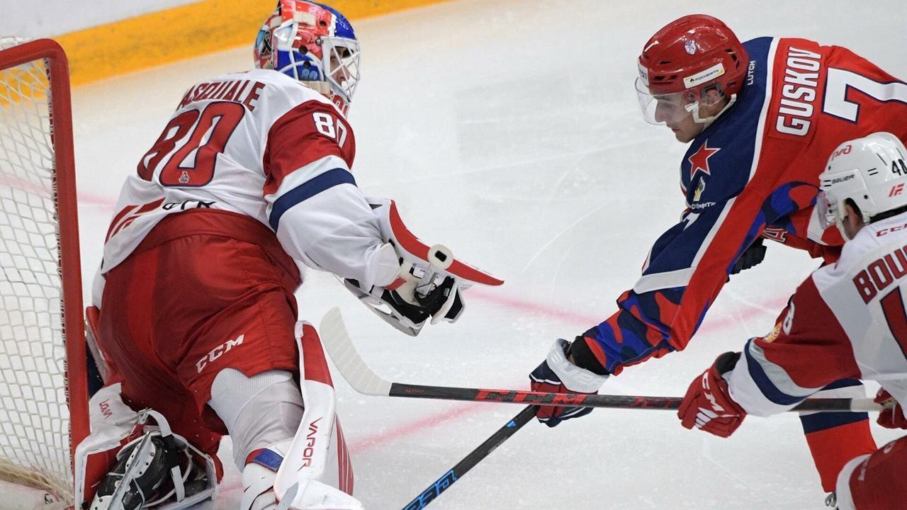 20-летний форвард ЦСКА Гуськов забил в третьем матче подряд