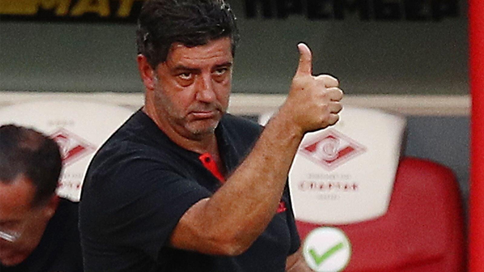 Тренер Бенфики Жезуш: Спартак уже на ходу. Соперник не менее амбициозен, чем мы