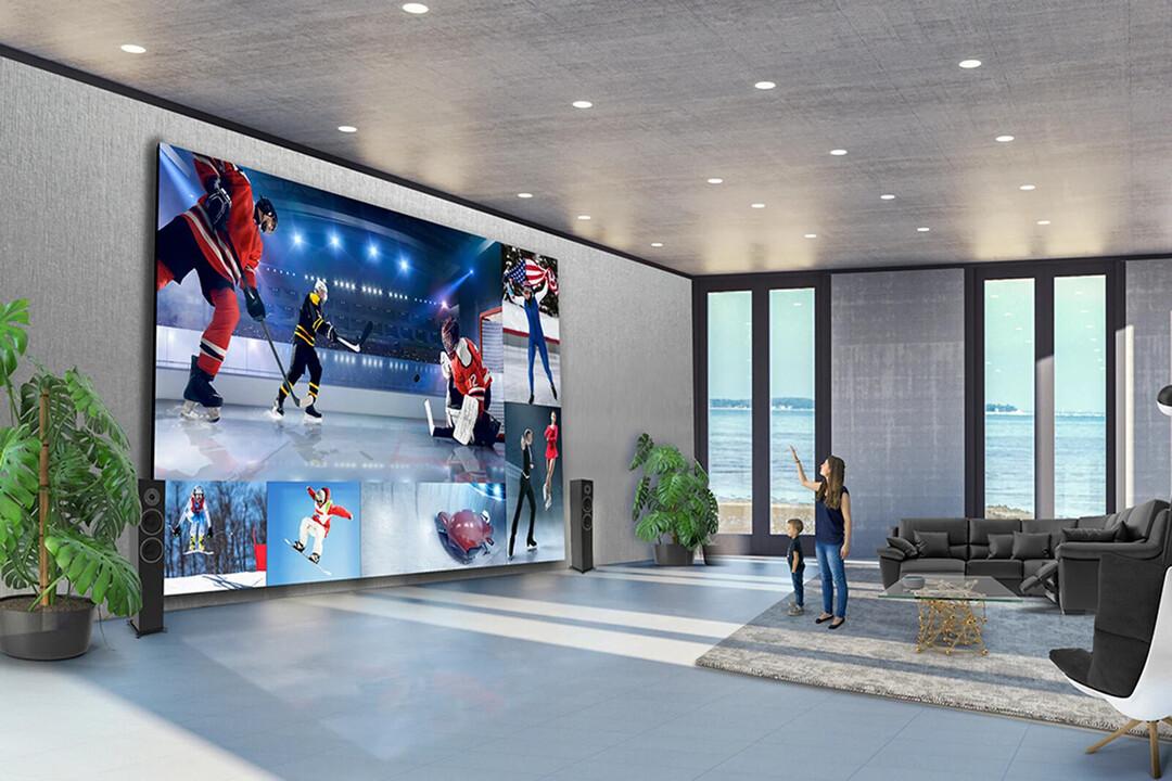 LG создал гигантский телевизор. Он стоит $1,7 млн и весит тонну