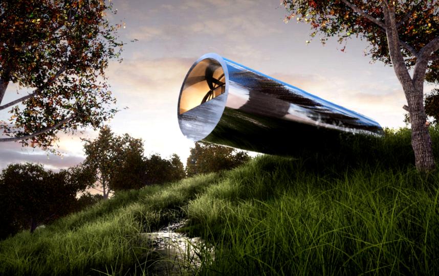 Идеальный русский дом – это металлический цилиндр: как он будет выглядеть внутри
