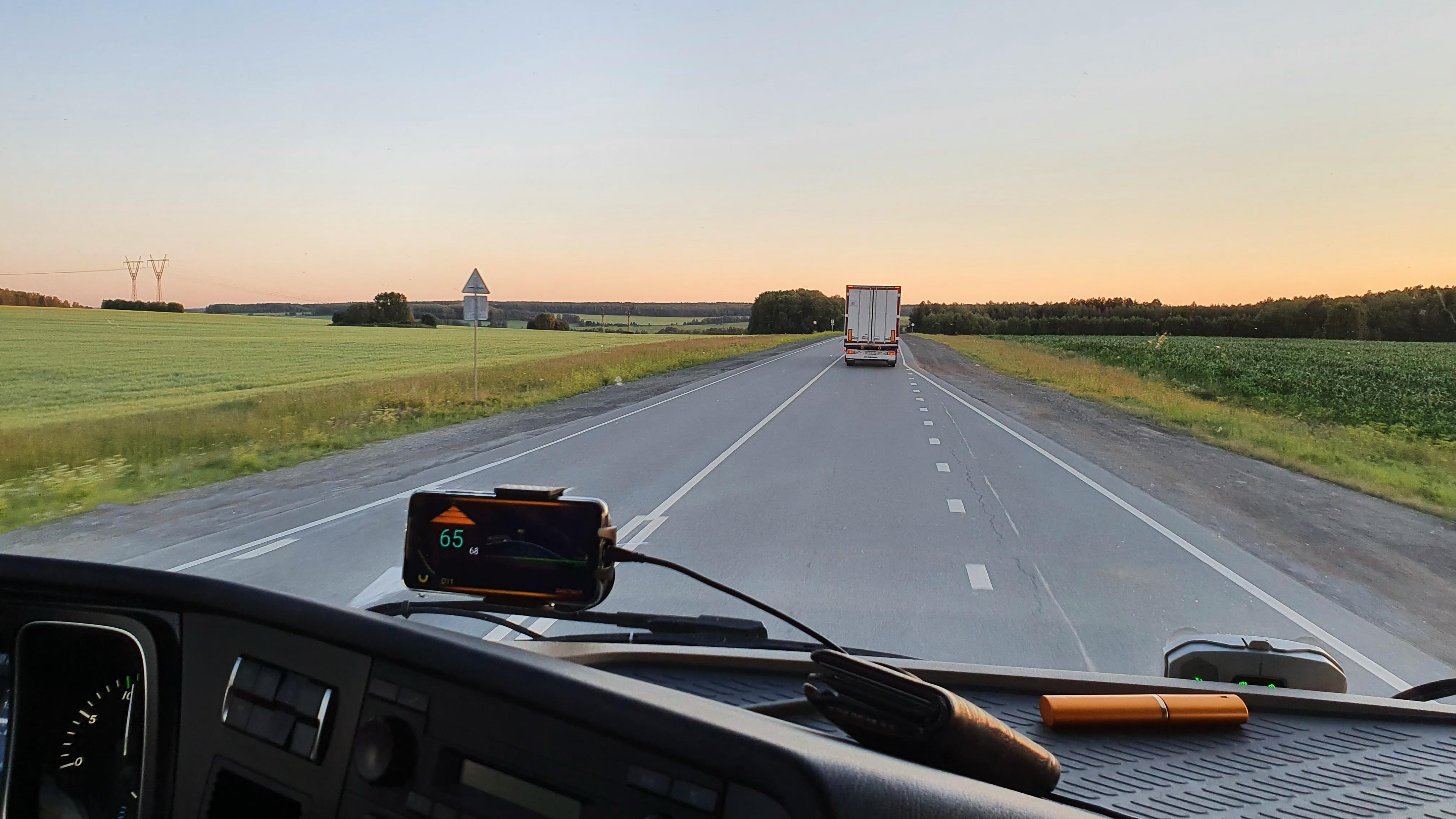 Российский стартап BaseTracK запустит беспилотные грузовики по трассе М11 до конца года