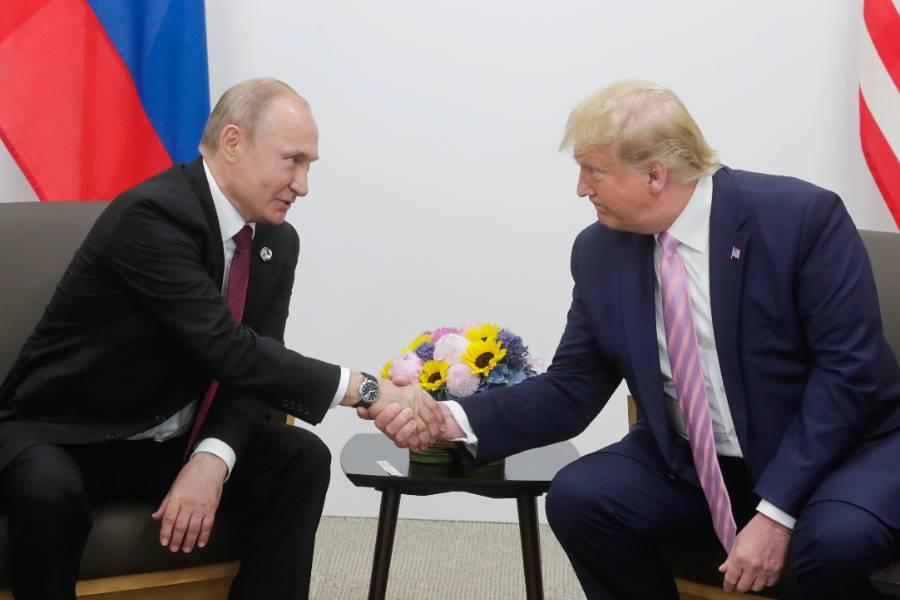 'Он может нравиться вам или нет': Путин назвал Трампа ярким и талантливым человеком