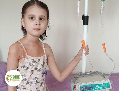 Десятилетнюю Веронику спасёт дорогая протонная терапия